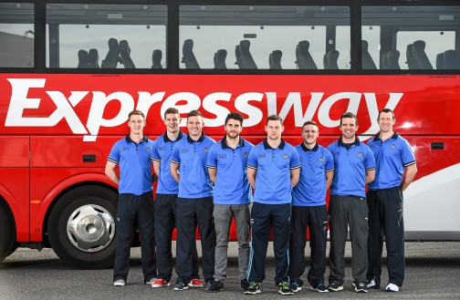 Expressway, proud to be official carriers of the Dublin Senior Football team