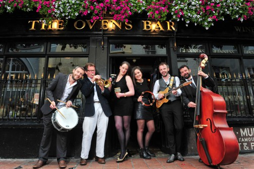 Local Cork band Collage & Co. celebrate the launch of the 34th Guinness ...