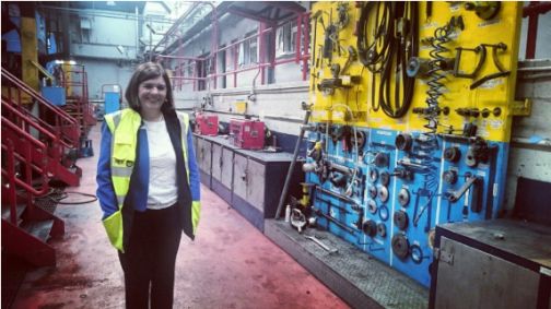 Marie Beegan's, CIE's First Female HGV Mechanic & Executive Manager of Dublin Bus Training Centre.