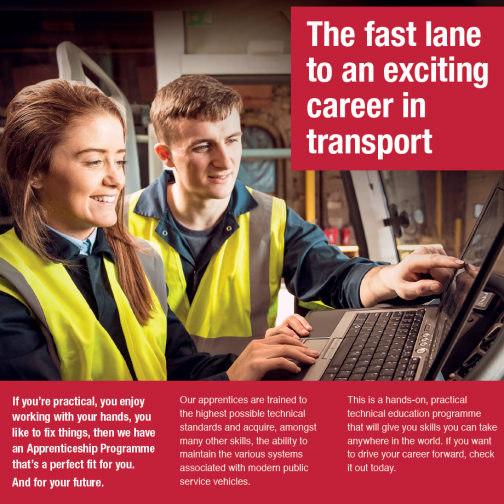 The fast lane to an exciting career in Transport