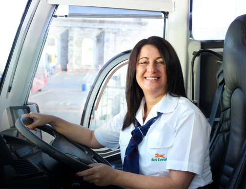 Bus Éireann are looking to recruit female drivers