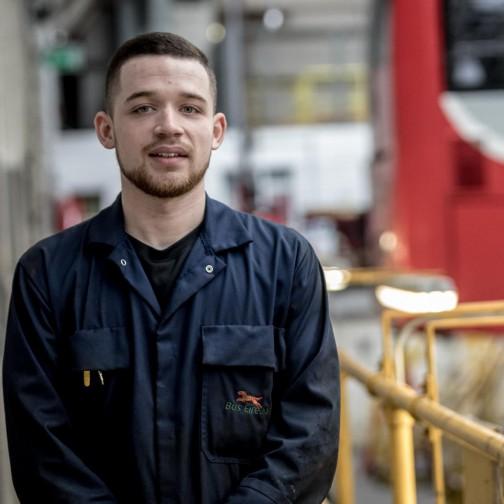 Apprentice in Bus Éireann